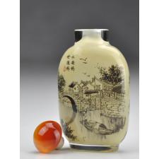 """Snuff Bottle """"Venedig des Ostens"""""""