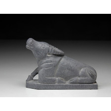 """Steinfigur """"Chinesische Tierkreiszeichen - Der Büffel"""""""