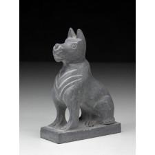 """Steinfigur """"Chinesische Tierkreiszeichen – Der Hund"""""""