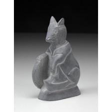 """Steinfigur """"Chinesische Tierkreiszeichen - Die Ratte"""""""