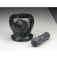 Steinmörser mit Stößel, groß