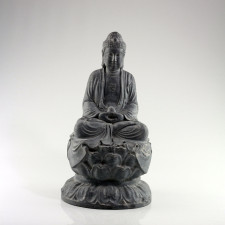"Steinskulptur ""Buddha Amitabha auf Lotusthron"""
