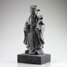 "Steinstatue groß ""Lu Xing"""