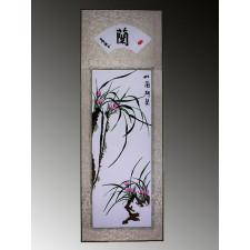 """Stickbild """"Die Vier Edlen – Orchidee"""""""