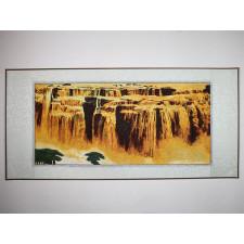 """Stickbild """"Detian Wasserfall"""""""