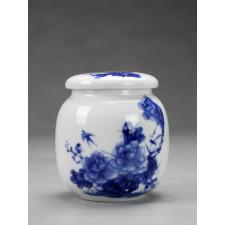 """Teedose Keramik """"Drei Rosen"""""""