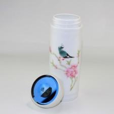 Teedose Porzellan mit  Aromaverschluss