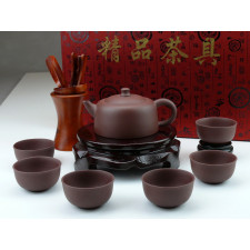 "Yixing Teeservice ""Klassik"", chinesisches Ton-Teeservice"