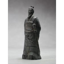 """Terrakotta-Krieger aus Xi'an """"Kaiser Qin"""" (22cm Serie), dunkel"""