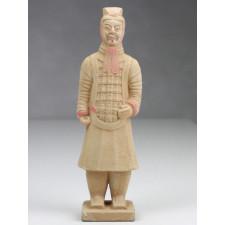 Terrakotta-Krieger Offizier hell 22cm Serie