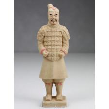 Terrakotta-Krieger Soldat hell 22cm Serie