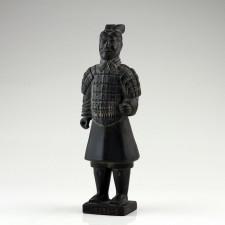 """Terrakotta-Krieger """"Offizier"""" aus Xi'an, Tonkrieger 22 cm"""