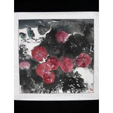 """Xiong Wen """"Vögel im Blumenmeer"""""""