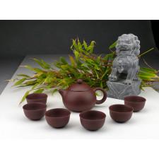 "Yixing Teeservice ""Anmut"", Xi Shi Ton-Teekanne"