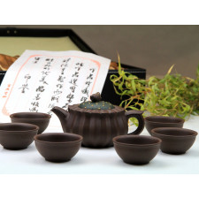 "Yixing Teeservice ""Glück und Reinheit"""