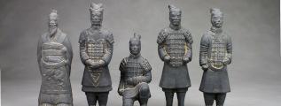 Terrakotta-Krieger - Tonsoldaten aus Xi'An