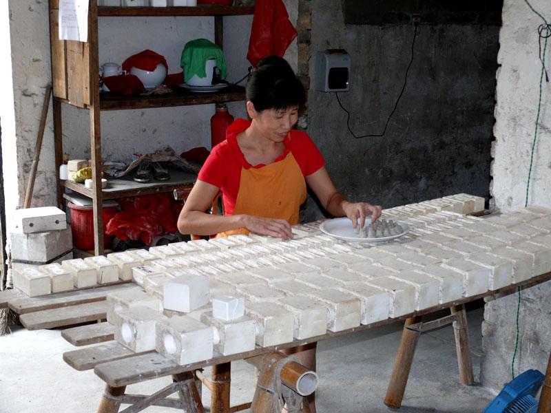 chinesische teedose keramik bambus porzellan mit aromaverschluss gro ebay. Black Bedroom Furniture Sets. Home Design Ideas