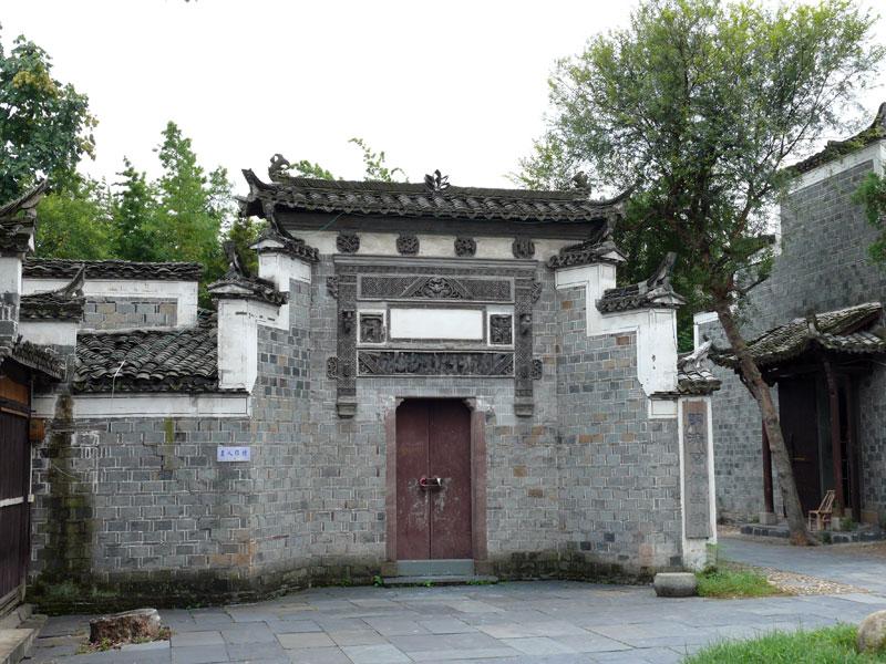 Jingdezhen Tempelmauer
