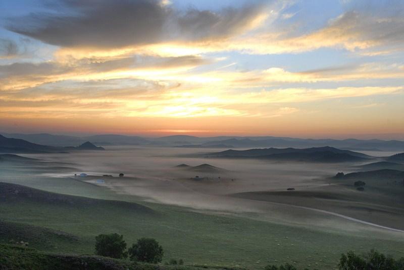 Landschaft um Jingdezhen