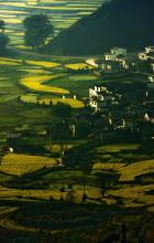 Chinesische Landschaft im Sommer