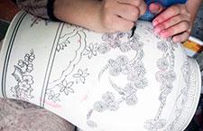 Chinavase Porzellan Herstellung