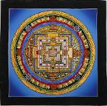 Kalachakra-Mandala-Thangka