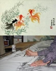 Chinesische Tuschemalerei / Gongbi-Malerei