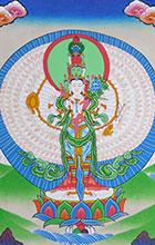 Thangka-Avalokiteshvara