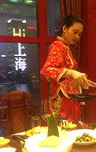 Chinesische Essstäbchen Restaurant